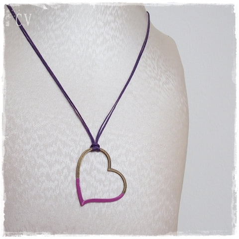 Layering Heart Necklace