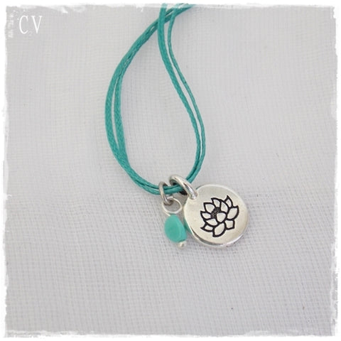 Lotus Flower Layering Purity Necklace