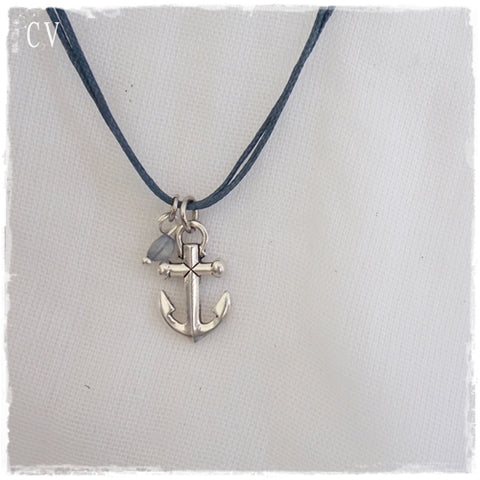 Anchor Dainty Pendant Necklace