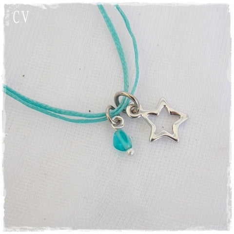 Shooting Star Dainty Layering Necklace
