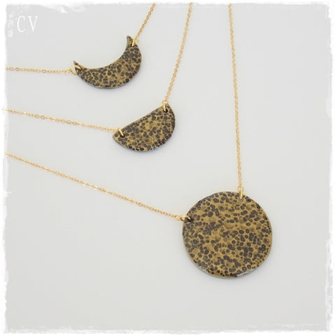 Moon Phases Layering Necklace*