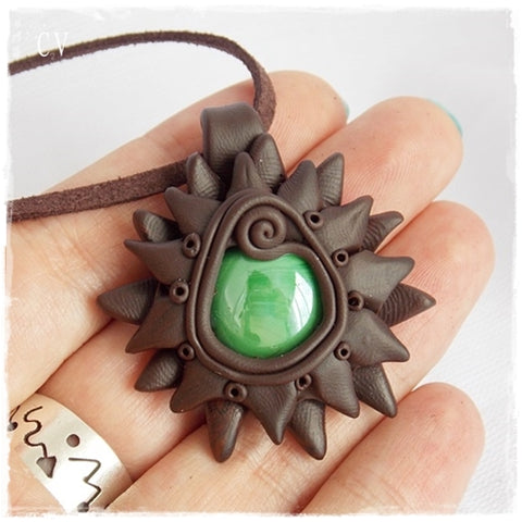 Druid Cosplay Pendant Necklace