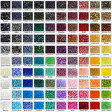Czech Glass Beads - Color Chart - C2V