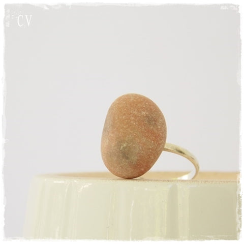 Beach Pebble Ring
