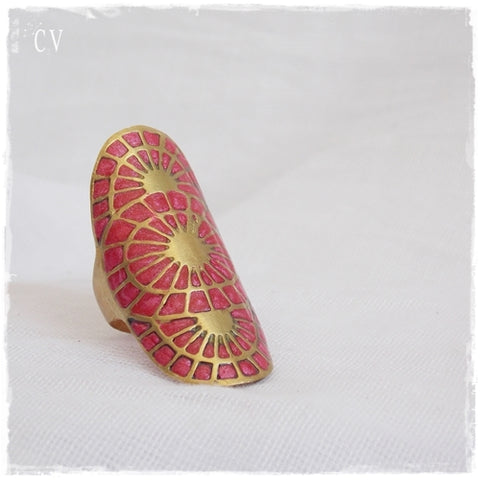 Statement Shield Ring