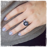 Spiritual Recovery Crystal Stone Ring