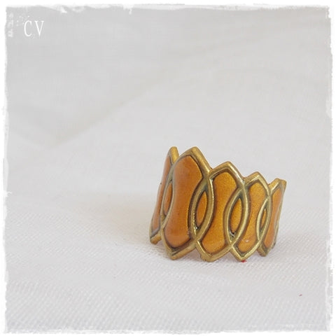 Geomteric Knuckle Ring