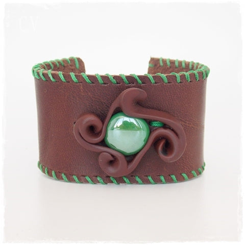 Cosplay Leather Cuff Bracelet
