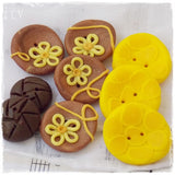 Oops: Polymer Clay Button Assortment ~