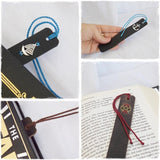 Crown Chakra Leather Bookmark