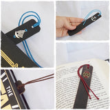 Handmade Leather Bookmarks - Made In Greece