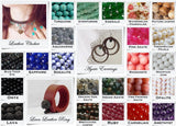 6mm Beads Color Chart - C2V - Made In Greece