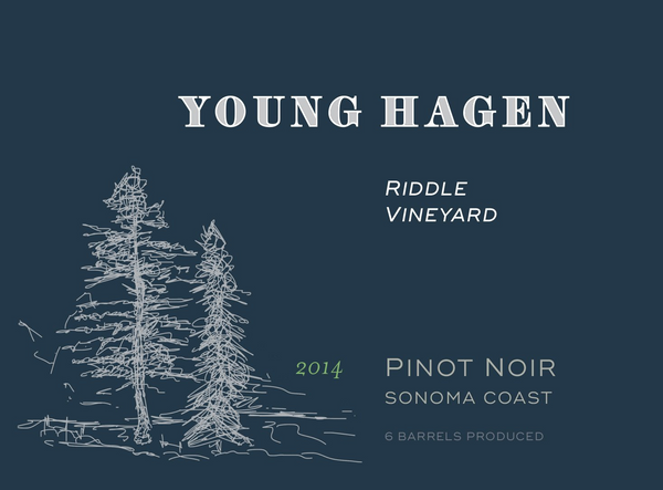 2014 Young Hagen Riddle Vineyard Pinot Noir