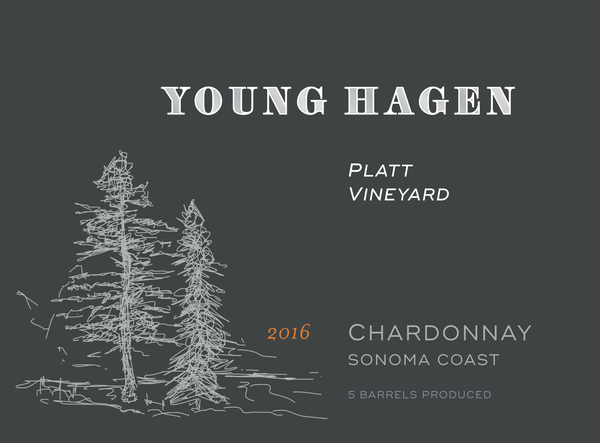 2016 Young Hagen Platt Vineyard Chardonnay