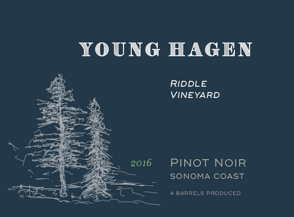 2016 Young Hagen Riddle Vineyard Pinot Noir