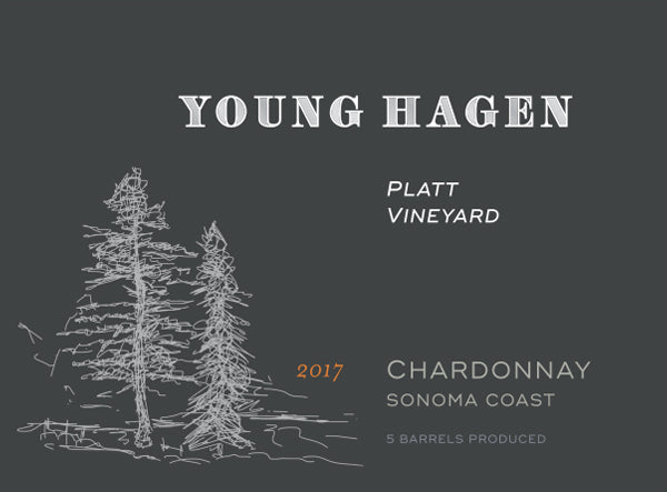 2017 Young Hagen Platt Vineyard Chardonnay
