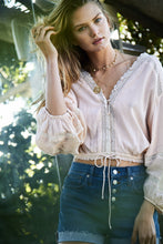 Daria Blouse Blush Pink