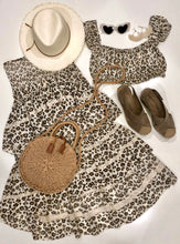 Leopard Bundle Skirt & Top Set