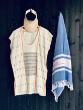 Sayulita Mini  Hand Loom  Kaftan in Ecru
