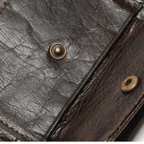 Vintage Leather Men Wallet