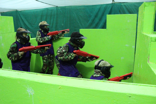 Mini Paintball Party for 10 players at Laser City Calgary