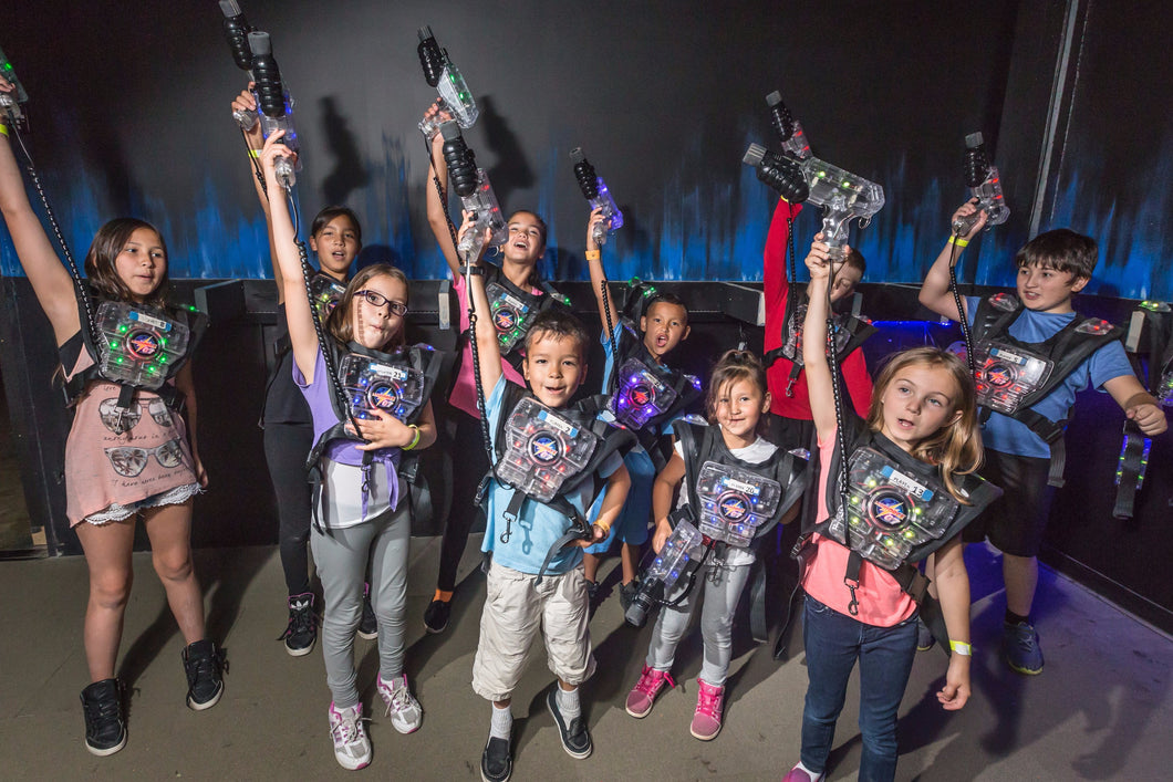 Laser Tag Party for 10 players at Laser City