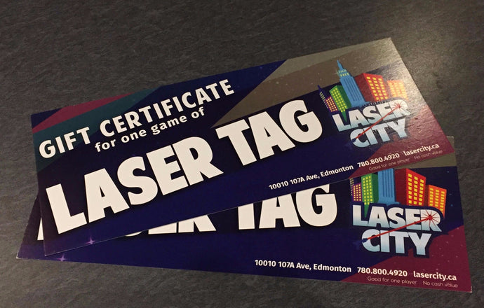 Drop-In Laser Tag Games at Laser City