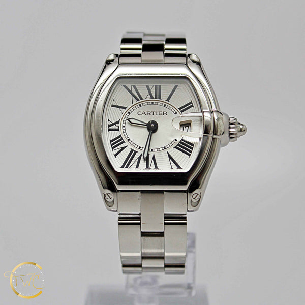 Cartier Roadster Ladies Steel Model W62016V3