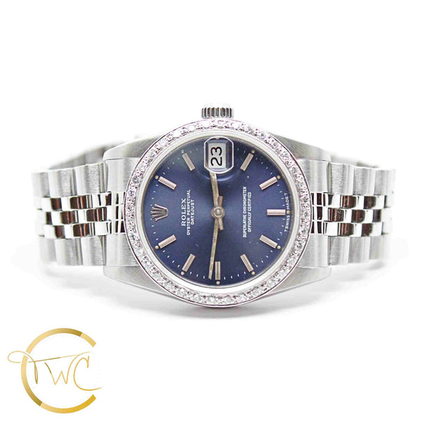 Rolex Datejust Stainless Steel 31mm 1989 Reference 68240