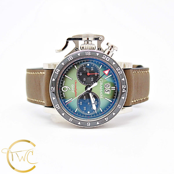 GRAHAM Chronofighter Vintage GMT 44mm Ref 2CVBC G01A