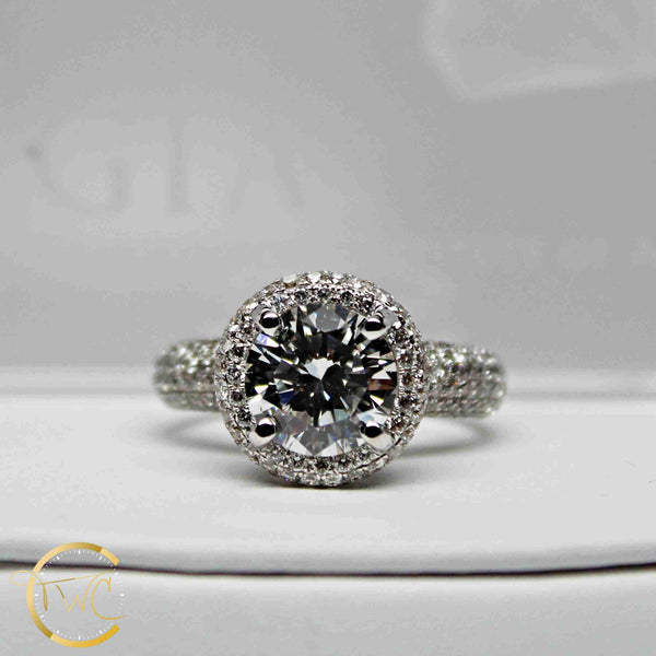 2.23 Ct. Round Brilliant Diamond G SI1 GIA