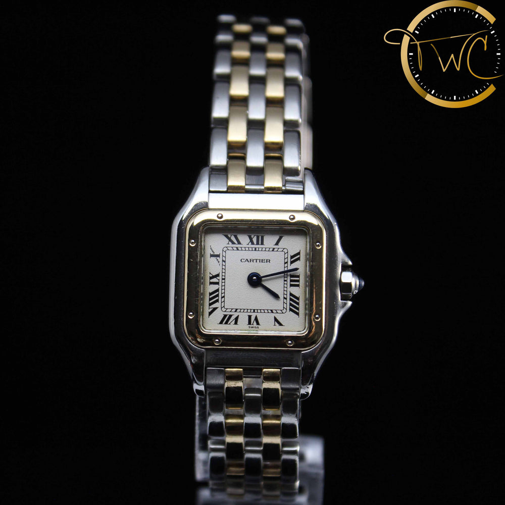 Cartier Panthere Steel & Gold 21mm Ladies 112000R