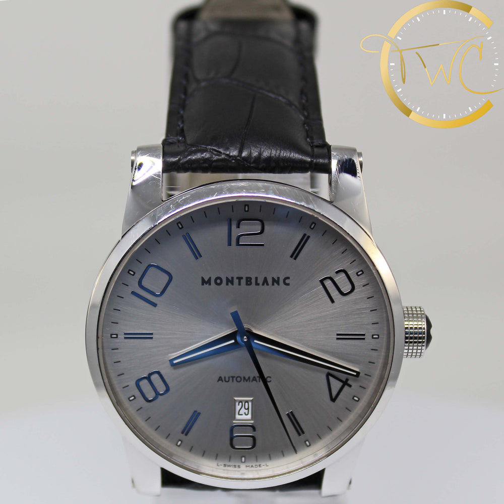 Montblanc Timewalker Date Steel & Leather 42mm 7070
