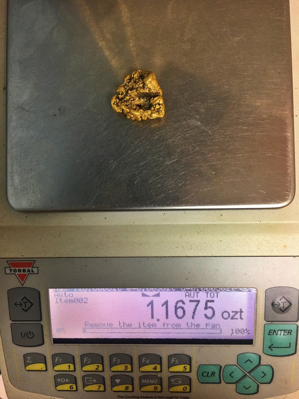 36.1 Grams Natural Gold Nugget