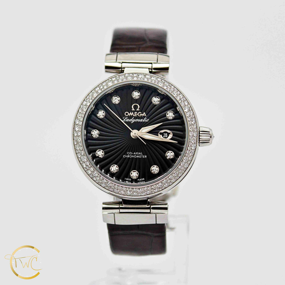 Omega De Ville Ladymatic Co-Axial 35MM Stainless Steel 8520