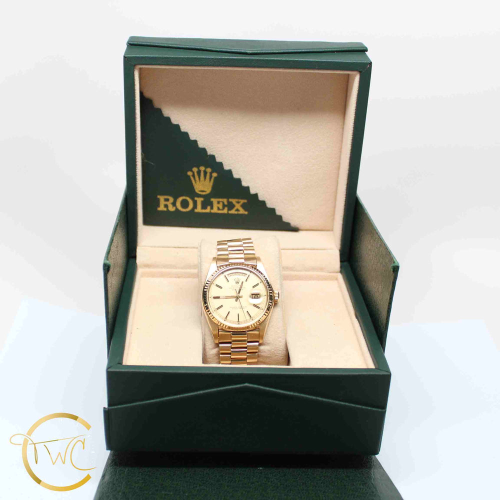Rolex Day Date President 18K Yellow Gold 36MM 1803