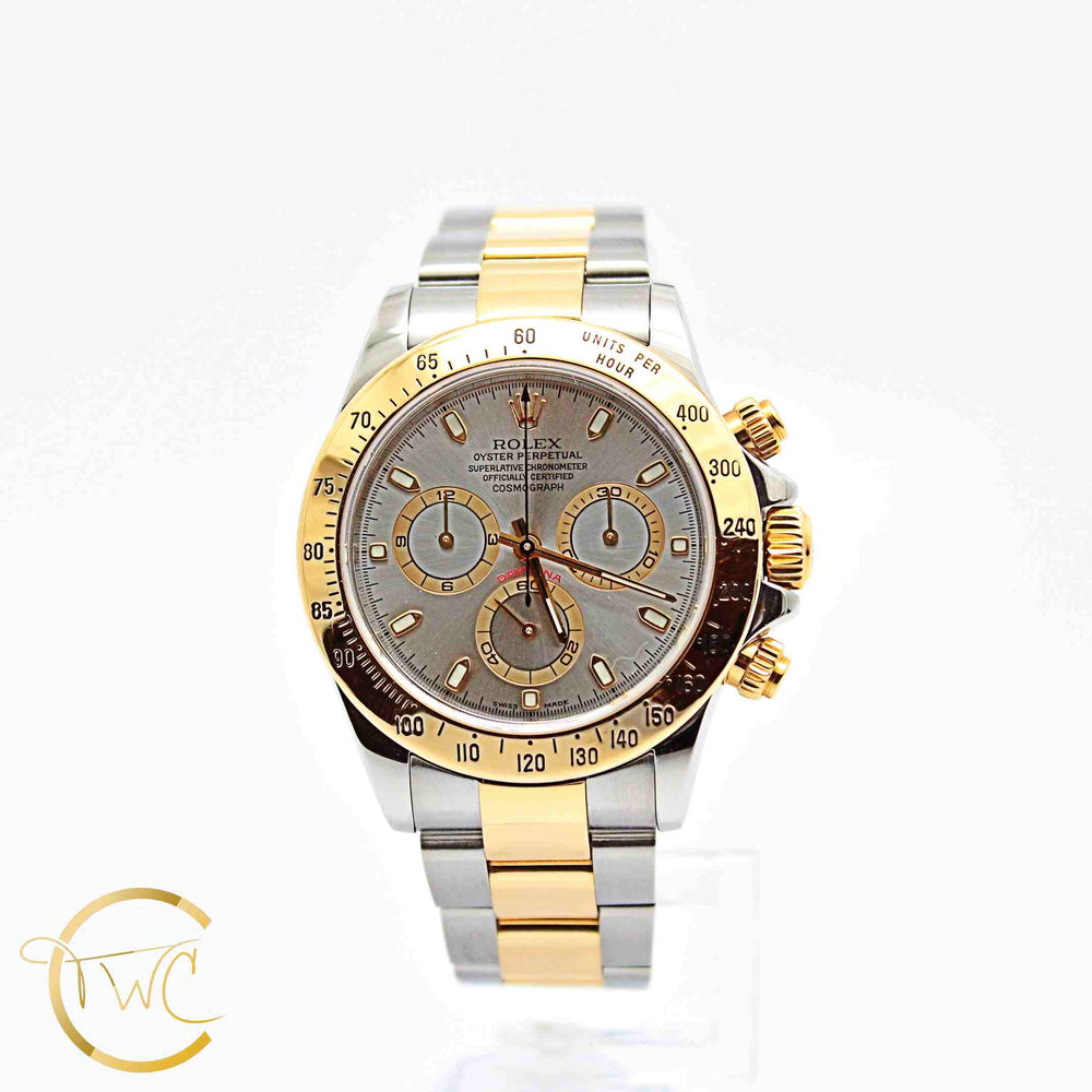 Rolex Cosmograph Daytona Steel and Gold 2002 Ref 116523