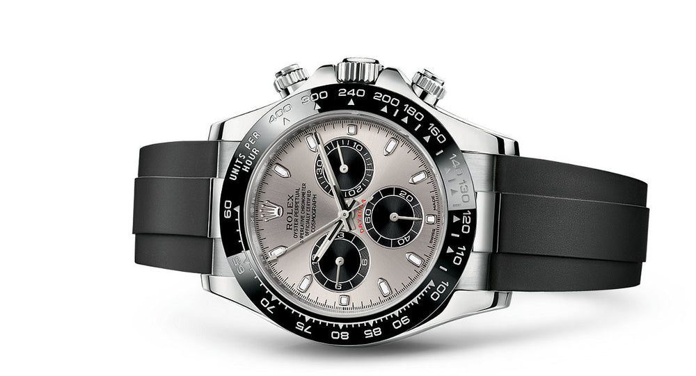 Rolex Daytona White Gold Oysterflex 40mm 116519LN