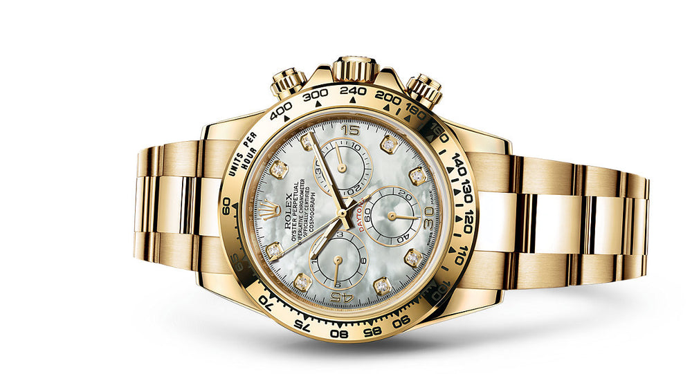 Rolex Daytona Yellow Gold 40mm 116508 MPD