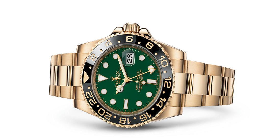 Rolex GMT-Master II Yellow Gold 40mm 116718LN G