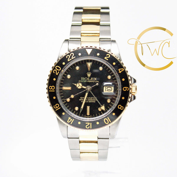 Rolex GMT-Master Steel and Gold 1981 40mm 16753