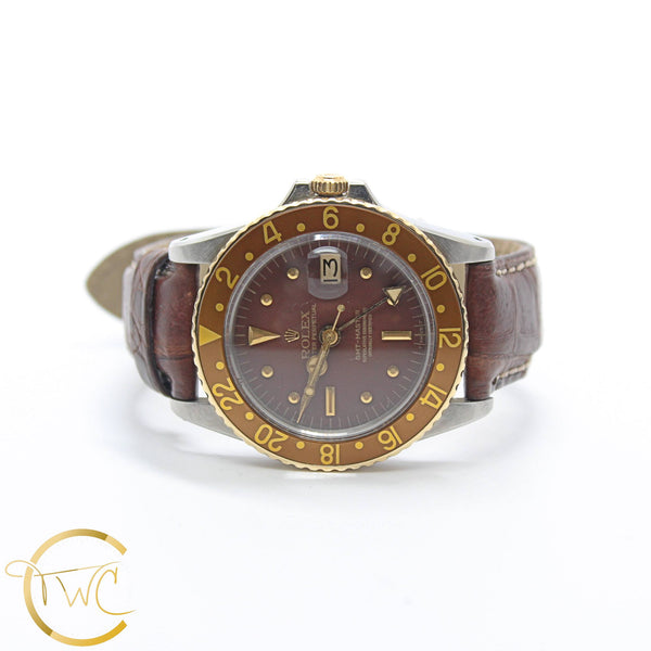 Rolex GMT Master Stainless Steel and 18K Yellow Gold 1965 ref 1675