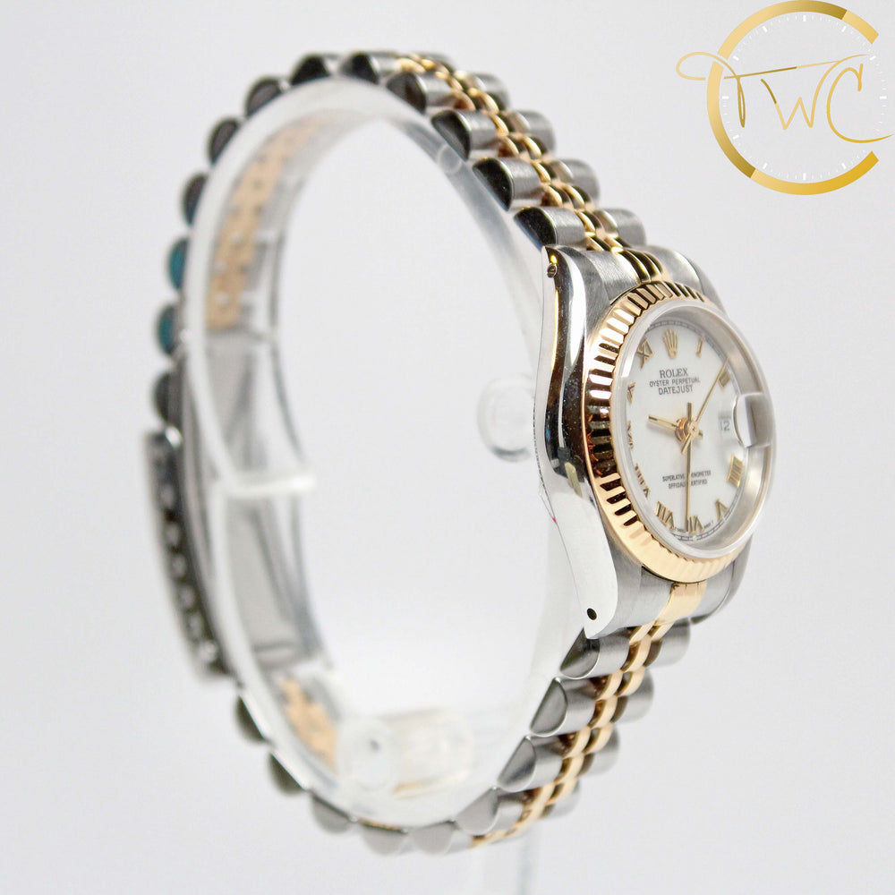 Rolex Ladies Datejust Steel and Gold 1991 26mm 69173