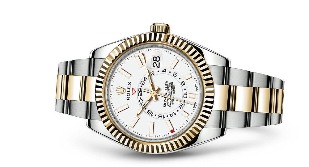 Rolex Sky-Dweller Steel & Yellow Gold 42mm 326933 BL