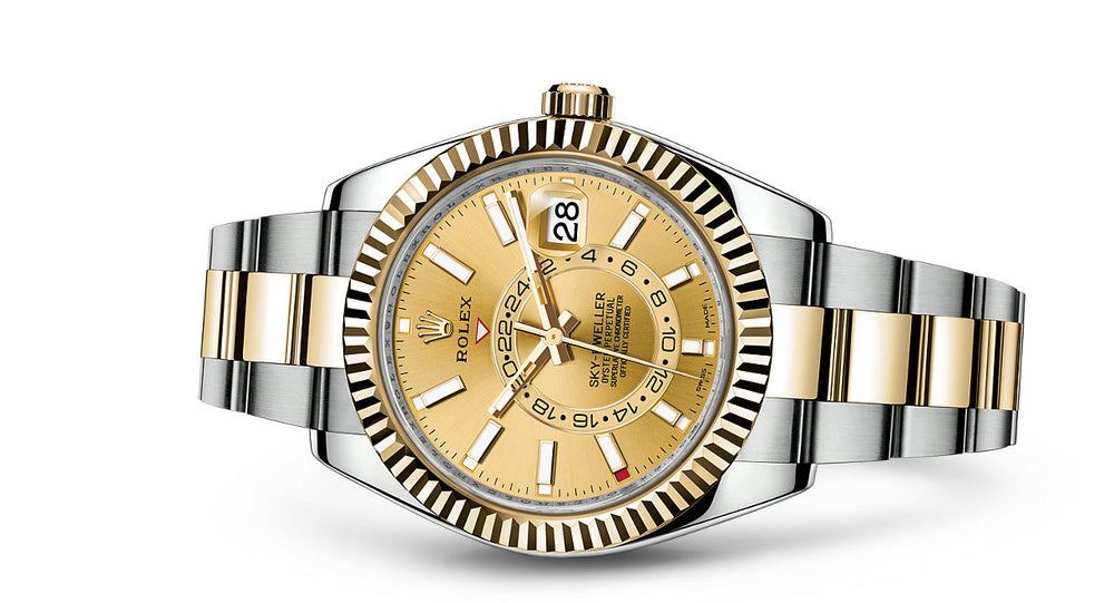 Rolex Sky-Dweller Steel & Yellow Gold 42mm 326933 CH