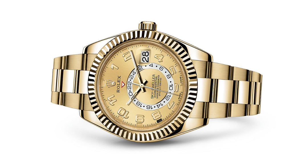 Rolex Sky-Dweller Yellow Gold 42mm 326938