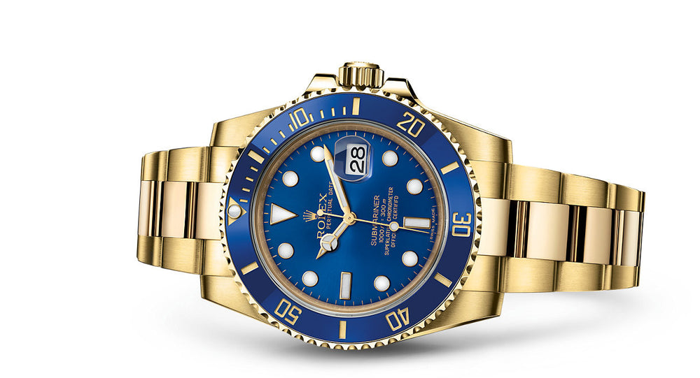 Rolex Submariner Date Yellow Gold 40mm 116618LB