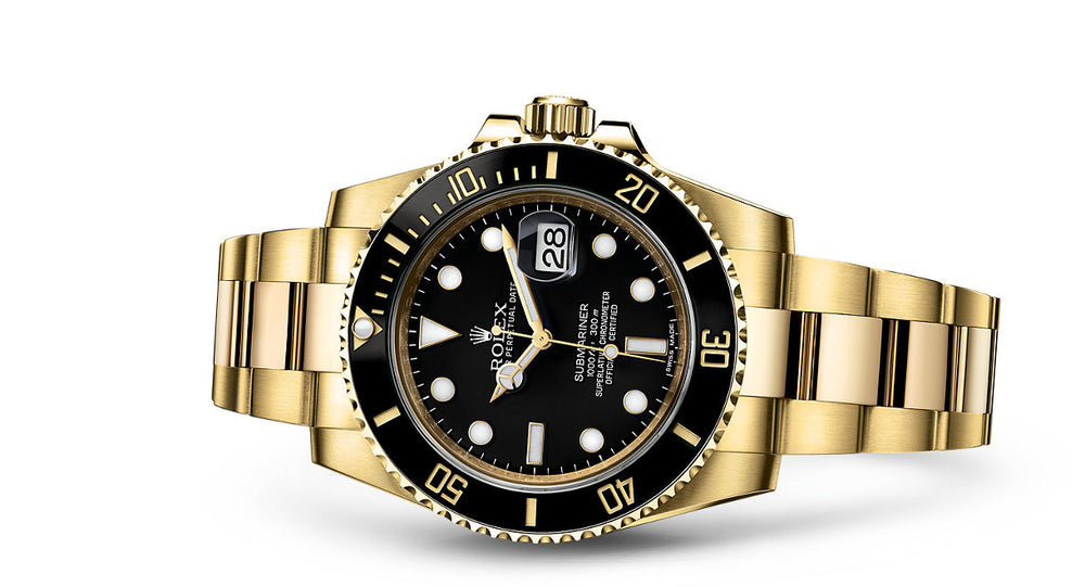 Rolex Submariner Date Yellow Gold 40mm 116618LN