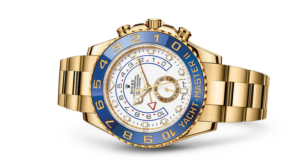 b013ed1dc81 Rolex Yacht-Master II Gold 44mm 116688 – The Watch Chic