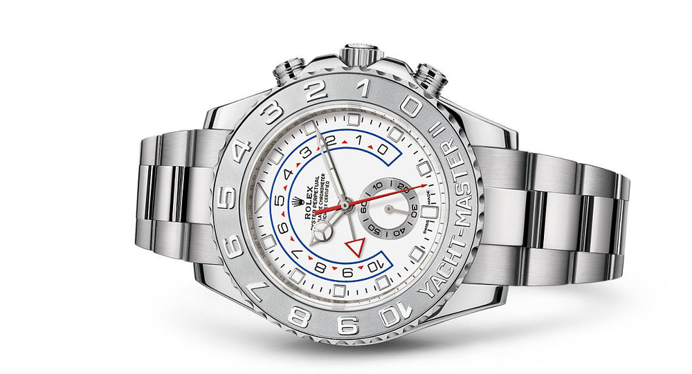 Rolex Yacht-Master II White Gold & Platinum 44mm 116689